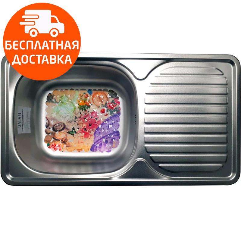 Мойка для кухни стальная Galati Anka Satin 7140 нержавеющая сталь