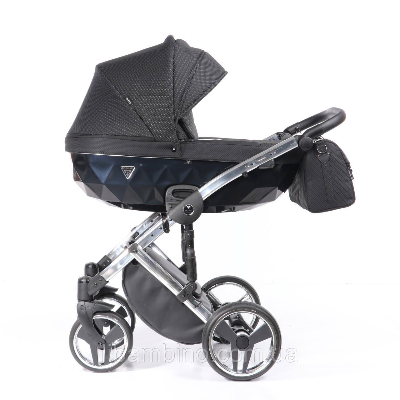 Дитяча універсальна коляска 2 в 1 Junama Onyx 01