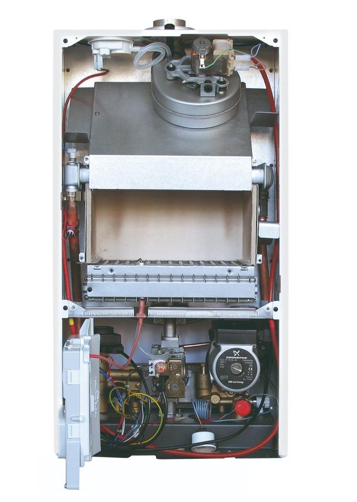 каскадное подключение газовых котлов Baxi