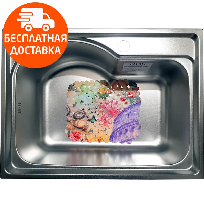 Мойка для кухни стальная Galati Elina Textura 9659 нержавеющая сталь
