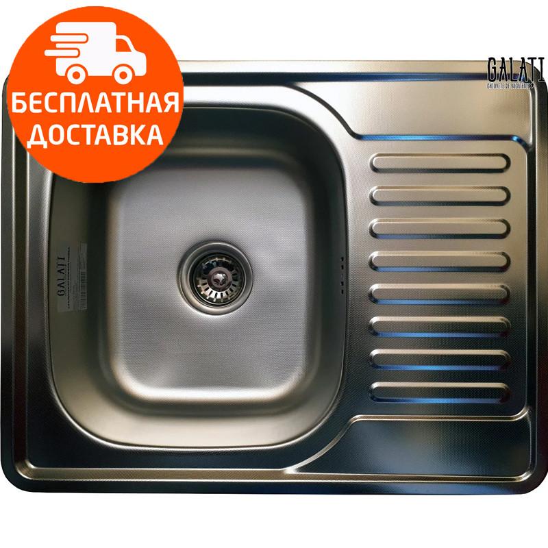 Мойка для кухни стальная Galati Donka Textura 7896 нержавеющая сталь
