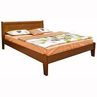Кровать Микс Мебель Мария Сити без изножья Интарсия