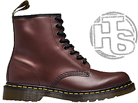 Женские ботинки Dr Martens Boots 1460 Smooth Cherry Red (с мехом) 11821600 36