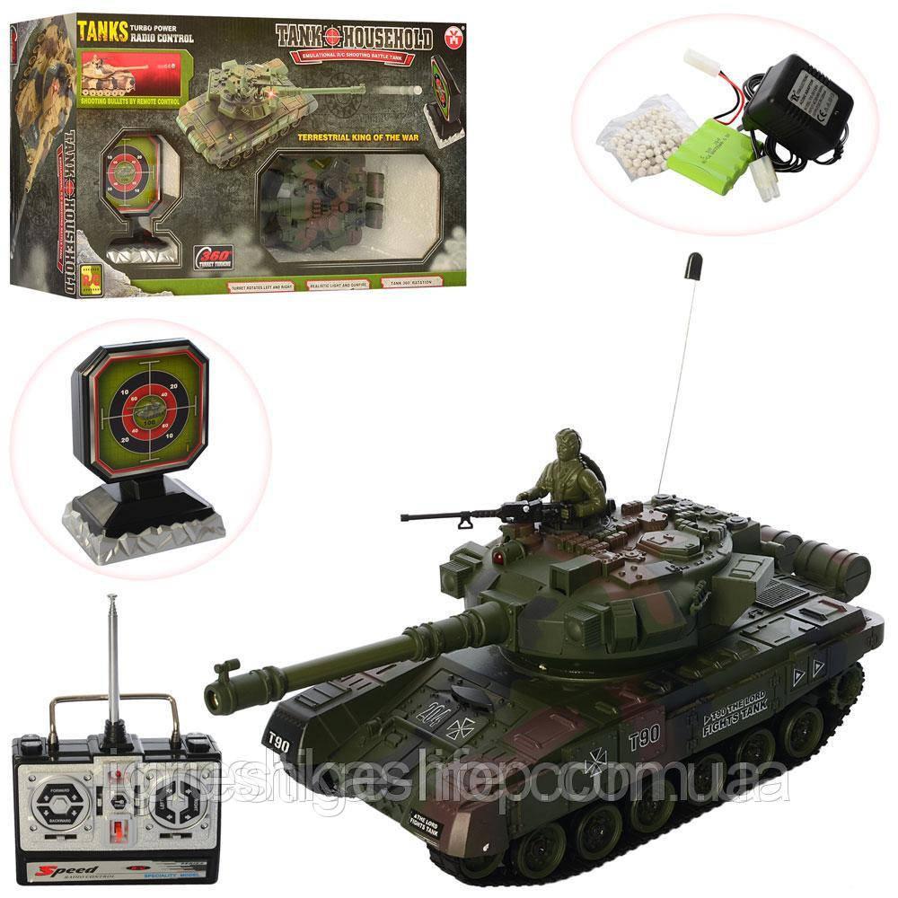 Игровой танк набор танковий бой радиоуправлении YH4101D