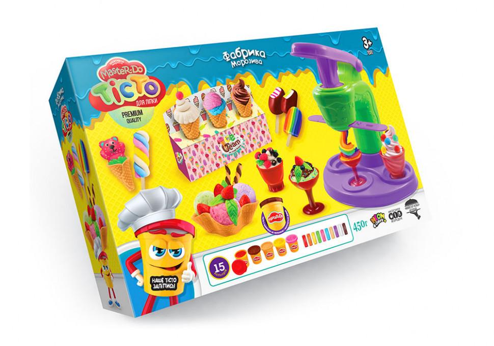 "Тесто для лепки ""Master Do"" Фабрика мороженого TMD-06-01, развивающая игрушка, подарок ребенку"