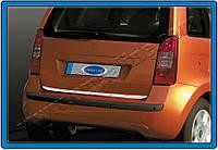 Fiat Idea 2003 + Кромка багажника (нерж.)