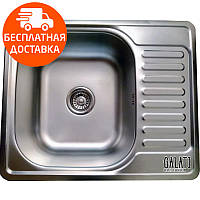 Кухонная мойка стальная Galati Eko Sims Satin 8658 нержавеющая сталь
