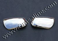 Daihatsu Materia 2006+ гг. Накладки на зеркала (2 шт, нерж)