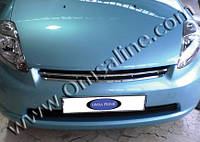 Daihatsu Sirion 2005+ гг. Накладка на решетку радиатора (нерж)