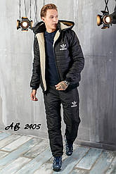 Чоловіча лижний костюм спортивний теплий на овчині розміри 48 50 52 54 Новинка є кольори