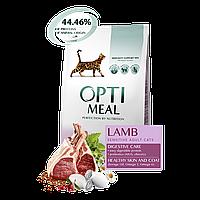 Optimeal Adult Sensitive Lamb 4кг