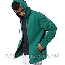 Толстовка мужская Reebok Workout Ready Full-Zip Fleece EC0859
