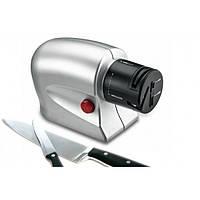Электронная точилка для ножей и ножниц Sharpener Silver