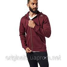 Толстовка мужская Reebok Elements Fleece Full Zip EI8989