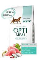 Optimeal Adult Sterilised Turkey 4кг