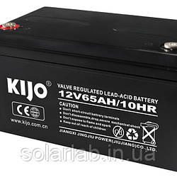 Акумулятор Kijo JS 12V 65Ah AGM