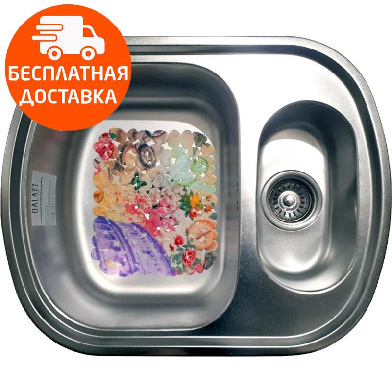 Мойка для кухни стальная Galati Vayorika 1.5C Satin 7897 нержавеющая сталь