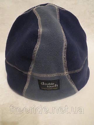 Мужская флисовая шапка Double Touch (55-57), фото 2