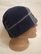 Мужская флисовая шапка Double Touch (55-57), фото 3