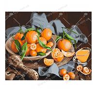 """Картина по номерам  """"Оранжевое наслаждение"""""""