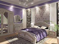 Кровать двухспальная Альба