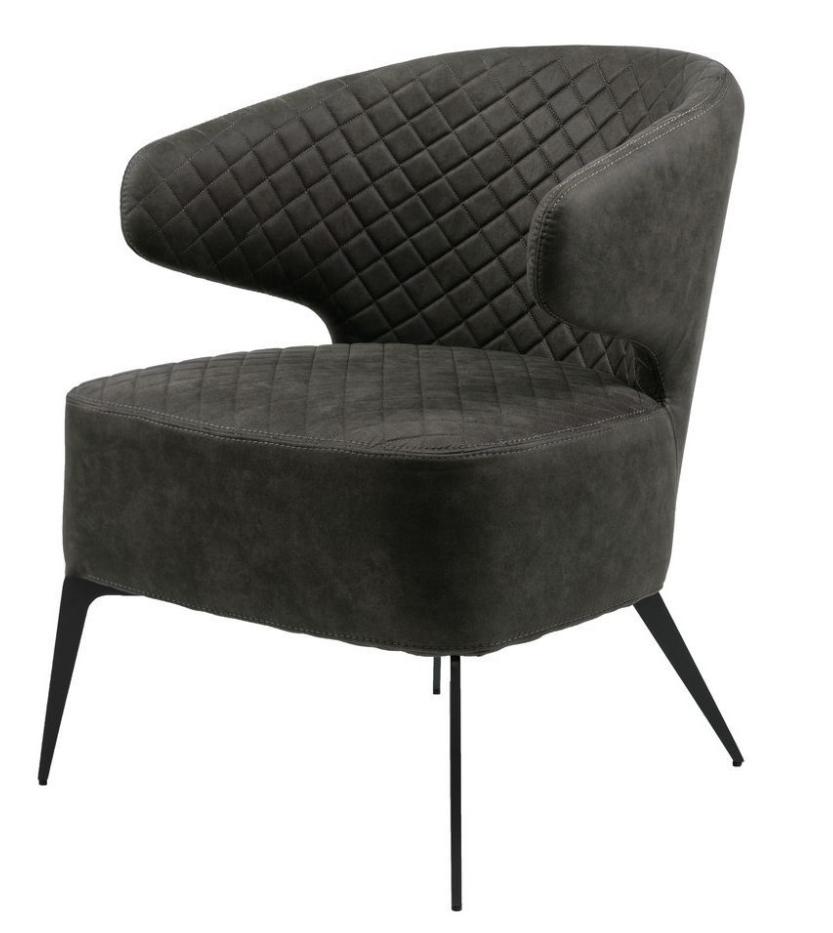 Кресло Keen лаунж нефтяной серый TM Concepto