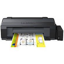 Принтер струменевий кольоровий Epson L1300 (C11CD81402) формат паперу А3+