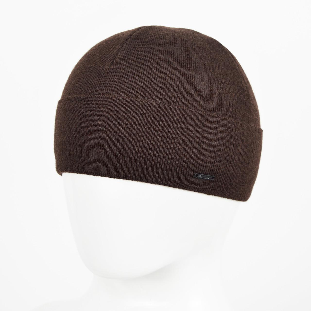 Мужская Шерстяная шапка Veer-Mar. № 468 Коричневый