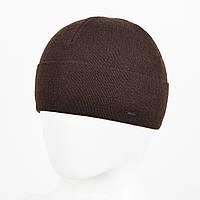 Мужская Шерстяная шапка Veer-Mar. № 468 Коричневый, фото 1
