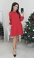 Женское нарядное платье прямого кроя Норма и батал