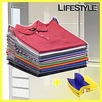 Универсальный органайзер для хранения одежды EZSTAX + Подарок! Магнитная щетка для мытья окон Double