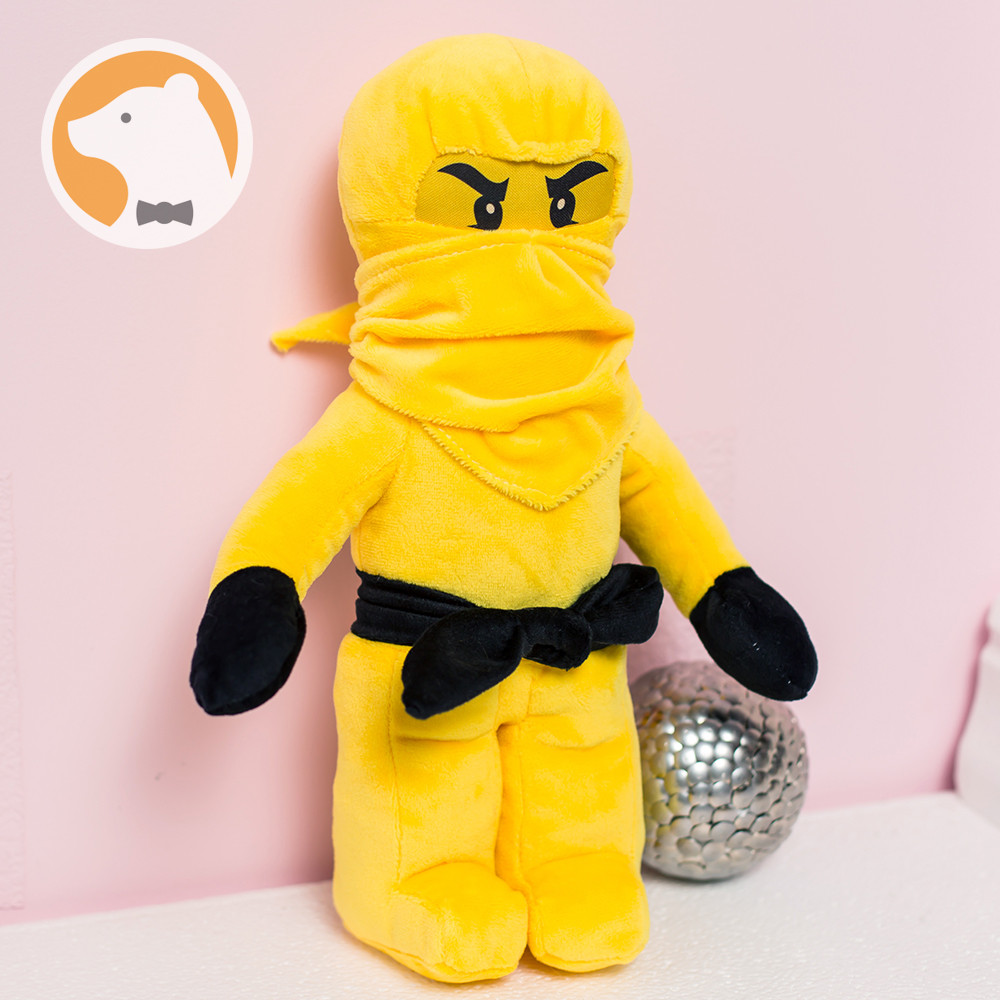 Мягкая игрушка Ниндзя Ниндзяго, желтый