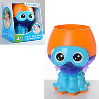 Игрушка для купания в ванной Медуза JH9207 забавная игрушка для малышей