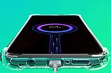 Протиударний TPU тонований чорний чохол PZOZ + Скло для Xiaomi Redmi Note 8 / Скла, фото 9