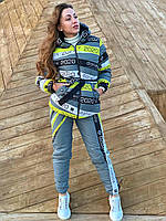Лыжный женский супер модный костюм sky dan лыжный костюм, костюмы лыжные, фото 1