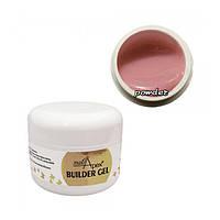 Nailapex Powder Builder Gel - гель для наращивания без опила розовато-бежевый, 30 мл