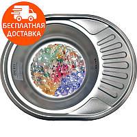 Мойка для кухни стальная Galati Eko Taleyta Satin 9686 нержавеющая сталь