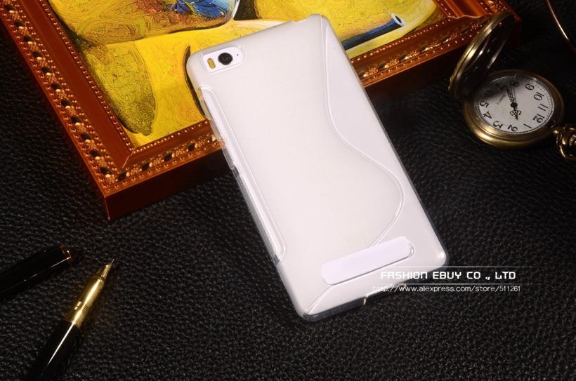 TPU чехол Duotone для Xiaomi Mi 4i (прозрачный)