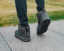 Мужские зимние кроссовки в стиле Nike Lunar Force 1 Duckboot с мехом, фото 2
