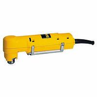 Дриль углова DeWalt, 350Вт, 9.2 Нm, 0-1200 об/хв, ключ/патрон 10 мм, вага 1,7 кг