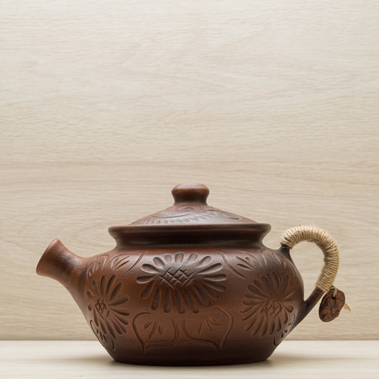 Чайник заварочный из глины  1,5л