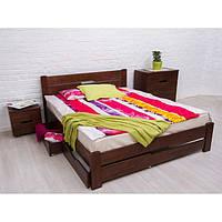 Кровать Микс Мебель Мария Айрис с ящиками (буковый щит)