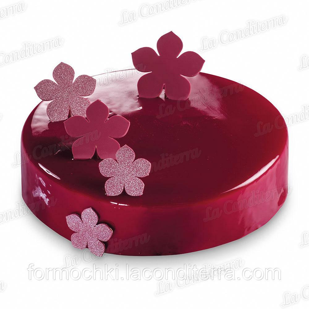 Силіконовий лист для шоколадного декору MARTELLATO CHASIL34 (Flowers)