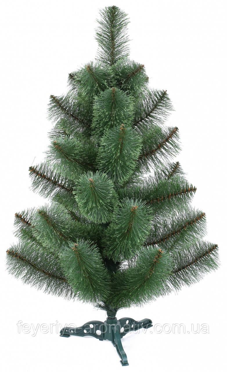 Сосна искусственная зеленая пушистая 90х60 см (SR 4420)