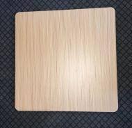 Столешница для стола ЭЛЬБА-N, толщина 25 мм, квадратная, 80*80 см, цвет натуральный дуб