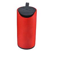 Портативная Bluetooth колонка TG113, красная