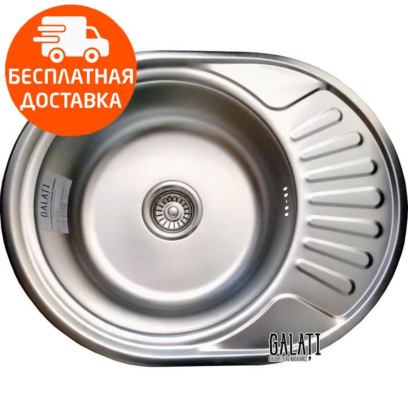 Мойка для кухни стальная Galati Taleyta Satin 7131 нержавеющая сталь