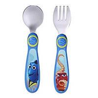 Детские столовые приборы Disney вилка ложка Дорри для кормления малышей 9+ отличный подарок