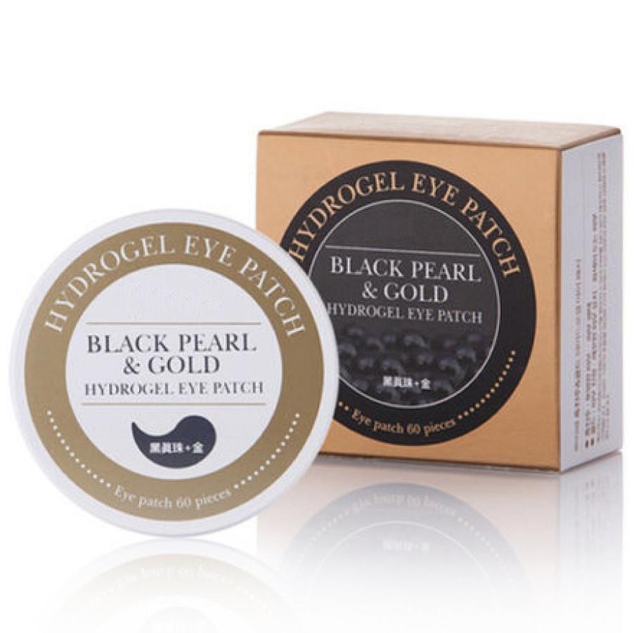 Купить Патчи для глаз Black Pearl & Gold Hydrogel Eye Patch с золотом и черным жемчугом (60 шт)