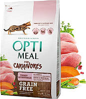 Optimeal Adult Carnivores Turkey 4кг